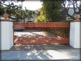 ornamental wrought iron gates fences ca railings