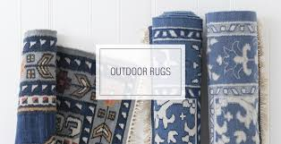 Porcelain Blue Rug Outdoor Rugs U2013 Caitlin Wilson