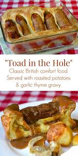 cuisine anglaise traditionnelle toad in the recette mains cuisines et recettes