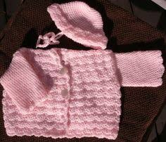 light pink sweater set baby sweater set teri yarn baby sweaters yarns and knit baby