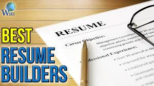 Best Resume Builders by 3 Best Resume Builders 2017 Youtube