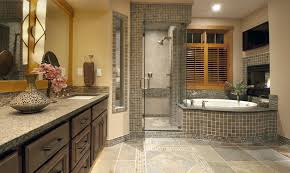 Rustic Bathroom Tile - tile floor design bathroom rustic with armoire blue 2 x