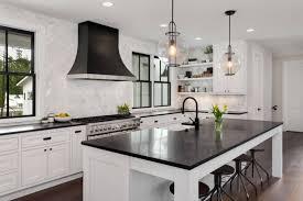 modern farmhouse kitchen black cabinets the top 70 best modern farmhouse kitchen ideas interior