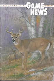 pennsylvania game news december 2011 cover by tom schatz old