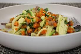 cuisiner des carottes la poele poêlée de courgettes et carottes la cuisine de dali