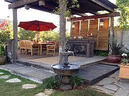Outdoor Patio Ideas Pinterest Patio Deck Design Ideas Best Home Design Ideas Stylesyllabus Us