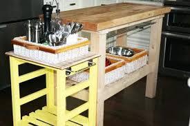 kitchen island cart with drop leaf u2014 the clayton design top