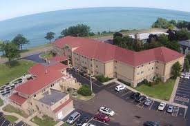 lakehouse and holiday inn express overlook lake michigan picture