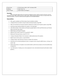Sap Basis Resume Sample by Summary On A Resume Sample Professional Summary For Resume
