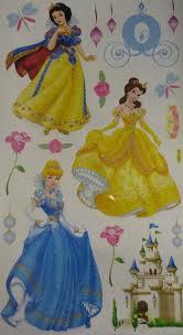 princess wall art stickers shenra com snow white disney princess wall stickers for girls room or nursery