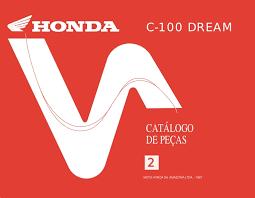 honda ex5 dream 100 spare part catalog manual