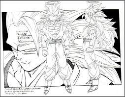 dragon ball coloring pages goku super saiyan bebo pandco