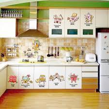 cuisine decor adorable animés aliments et ustensiles de cuisine intime cuisine