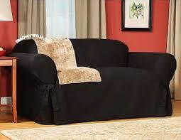 Denim Slipcover Sofa by Black Sofa Slipcovers Ideas Denim Slipcover Sofa Slipcovered