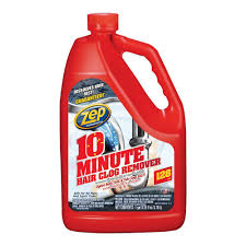 zep 1 gal 10 minute hair clog remover zhcr128ng the home depot