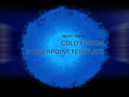 cold fusion a powerpoint template from presentermedia com