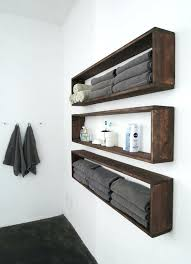 diy wall shelves in the bathroom tutorial wall storage shelf with