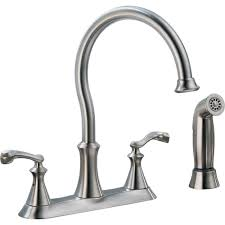 kitchen sink faucets with side spray u2022 kitchen sink