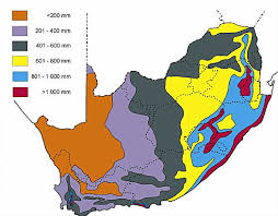 africa map climate zones south africa climate and weather with temperatures and rainfall maps