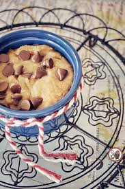 microwave chocolate chip cookie in a mug sweetest kitchen