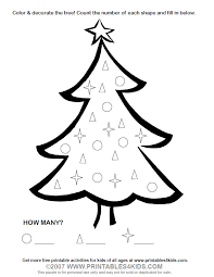 christmas tree coloring printables kids u2013 free word