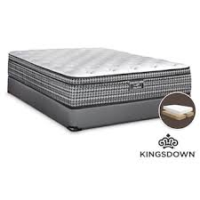 kingsdown assist queen split boxspring leon u0027s