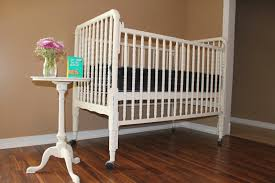 distressed style refinished crib