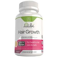 amazon com hair skin and nails vitamins with 3000mcg biotin for