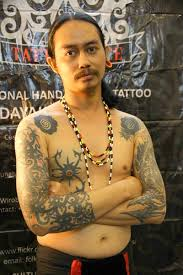 first ever tribal and tattoo convention u2013 borneopost online