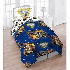 Truck Bedding Sets Jam 4pc Bed Set With Bonus Tote Walmart