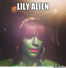 Lily Meme - lily alien by recyclebin meme center
