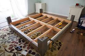 Make Your Own Cheap Platform Bed by How To Build Your Own Bed Frame 16 Gorgeous Diy Bed Frames The