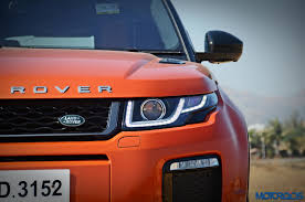 range rover modified red range rover evoque 2 2 diesel review bling thing motoroids