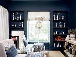 dark blue den and man cave myhomeideas com for the home