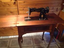 Vintage Singer Sewing Machine Cabinet Antique Singer Sewing Machine Stool Buy U0026 Sell Items Tickets Or