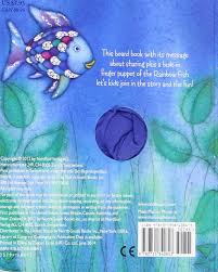rainbow fish finger puppet book rainbow fish north south books