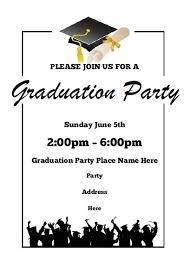 graduation invitations free printable allfreeprintable