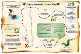 Map Of Neverland Finding Neverland Barrie The