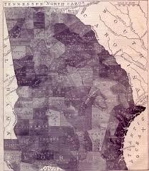 Georgia Counties Map Slave Map