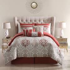 Coral Colored Comforters Amazing Rust Colored Bedding 94 Rust Colored Quilt Montaneros
