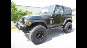 jeep lifted 2 door lifted 1997 jeep wrangler sahara 2 door convertible youtube