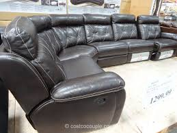 Sectional Reclining Leather Sofas by Furnitures Costco Couch Velvet Sectional Sofa Leather