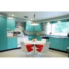 une cuisine en formica inspiration sixties ées 60