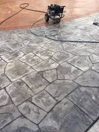 Flagstone Stamped Concrete Pictures by Stamped Concrete Gallery Northwest Decorative Concrete