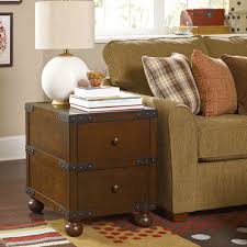 furniture coffee table storage trunk trunk end table bedside