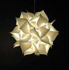 medium spades pendant light fixture warm white glow