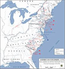 Latin America Map Labeled by Map Of Usa During Revolutionary War At Maps