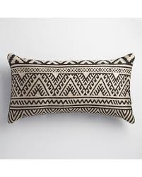 Lumbar Patio Pillows Amazing Holiday Shopping Savings On Black And Taupe Kilim Indoor