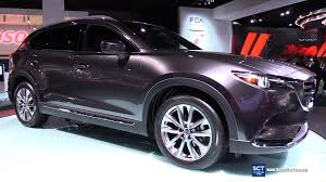 mazda cx 9 2017 mazda cx 9 skyactive awd exterior and interior walkaround