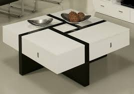 modern black end table 7 black and white coffee tables for a modern living room cute
